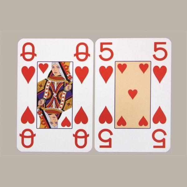 Kaartspel met grote opdruk