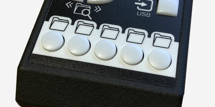 EasyReader storage keypad