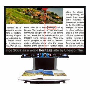 Read Aloud Video Magnifier Vocatex Plus 27