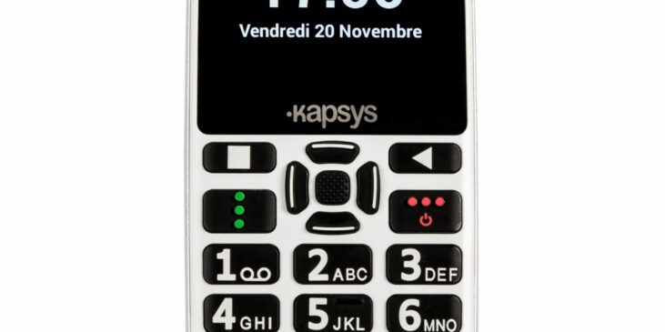 Téléphone portable GSM Kapsys Minivision 2